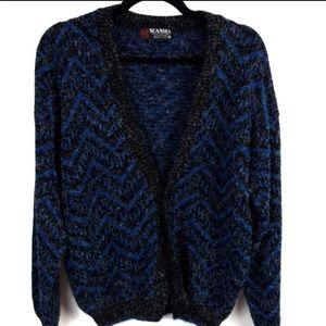 Vintage Scandia Oversized Cardigan Sweater